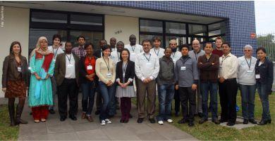Pelotas workshop attendees